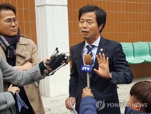 '인사 부당개입' 무죄 전북교육감 항소심서 벌금 1천만원(종합)