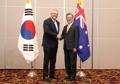 Moon meets Australian PM