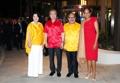 Avec le couple du PM papouan-néo-guinéen
