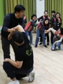 Women take self-defense class