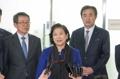Hyundai Group chief returns from N. Korea