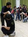 Women take self-defense class