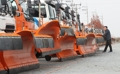 Preparation for snow removal