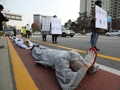 Bowing ceremony over illegal migrant worker's death