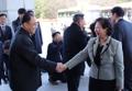 La presidenta del Grupo Hyundai en Corea del Norte