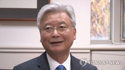 조윤제 북미 물밑접촉, 머잖아 준비회담…고위급 개최 가능성(종합)