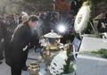 Conmemoración del difunto expresidente