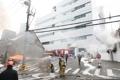 Incendie dans un immeuble de KT