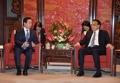 Avec le PM chinois