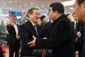 N.K. sports minister visits Japan