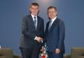 Moon y el PM checo
