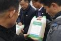 Livraison d'insecticides