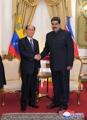 N.K. titular head visits Venezuela