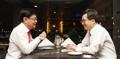 Ministres des Finances coréen et singapourien