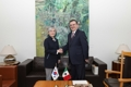 Chef des diplomaties coréenne et mexicaine