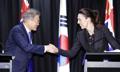 文大統領とNZ首相