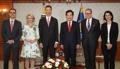 El primer ministro con el príncipe de Liechtenstein
