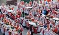 釜山でキムチ漬けイベント