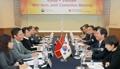 وزير الصناعة يجتمع مع نظيره الفيتنامي