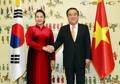 Présidents parlementaires Corée-Vietnam