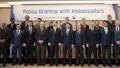 جلسة إحاطة بشأن السياسات للسفراء لدى كوريا