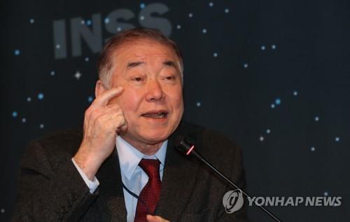 """문정인 """"美 '남북관계 너무 앞서가면 北설득 어렵다' 불만 토로""""(종합)"""