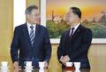 大統領と新経済副首相