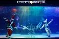 Spectacle de Noël sous-marin