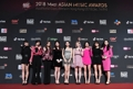 TWICE at music awards in Hong Kong