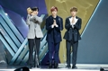Wanna One Triple Position at music awards