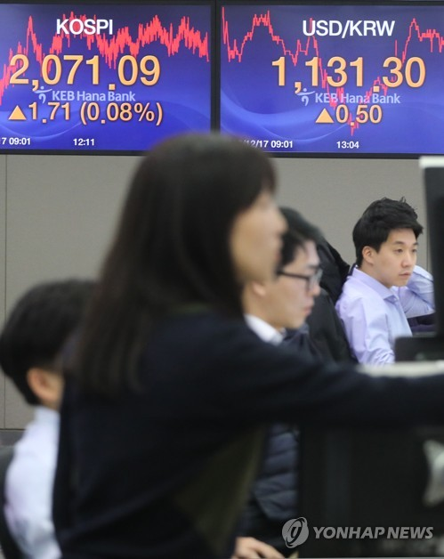 (LEAD) Seoul shares rise on bargain hunting