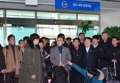 La delegación surcoreana regresa a Seúl