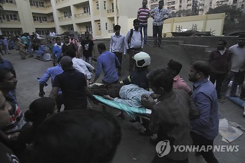 인도 뭄바이 국립병원 화재…6명 숨져
