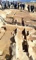 Excavación de un antiguo palacio real