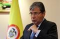 El canciller colombiano se reúne con la prensa