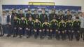 La delegación surcoreana de fútbol parte para la Copa Asiática
