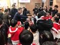 El presidente Moon Jae-in en Navidad