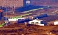 Un tren surcoreano en la Estación de Panmun