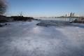 漢江が結氷