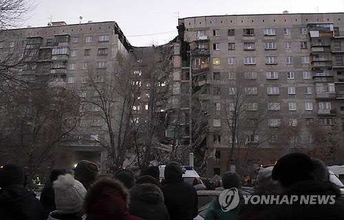 러 우랄 아파트 가스폭발 추정 붕괴…4명 사망·30여명 실종(종합2보)