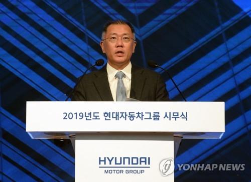 정의선, 기아차 사내이사 선임…대표이사는 박한우·최준영