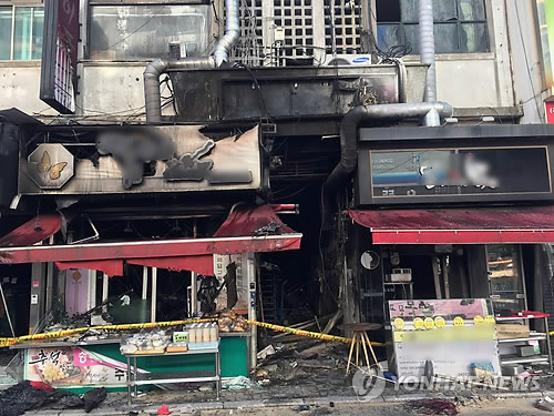 원주 중앙시장 화재 피해상인 자금 지원…28일 임시 점포 개장