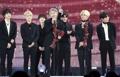 BTS obtiene el gran premio por ventas de álbumes
