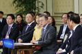 El presidente se reúne con líderes de firmas pequeñas