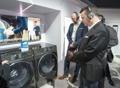 Lavadora de Samsung en el CES