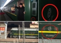 El tren especial del líder norcoreano en su visita a China