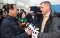 El actor de Hollywood George Eads en Corea del Sur
