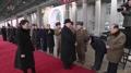 N. Korean leader returns home from China trip