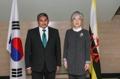 Cancilleres de Corea del Sur y Brunéi