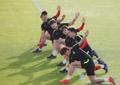 Entrenando para la Copa Asiática